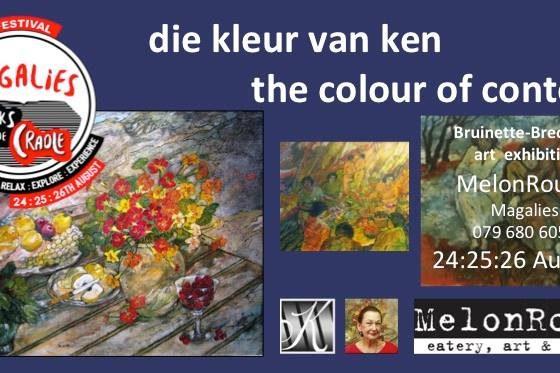 Die kleur van ken – the colour of content – Bruinette Brecher