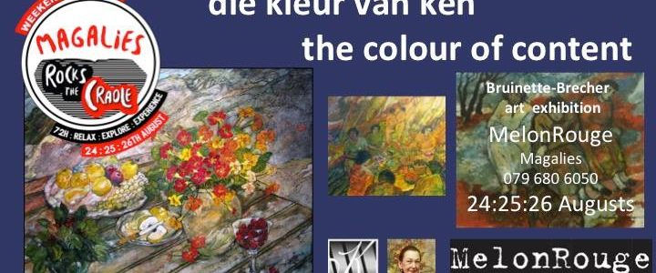 Die kleur van ken – the colour of content – Bruinette Brecher