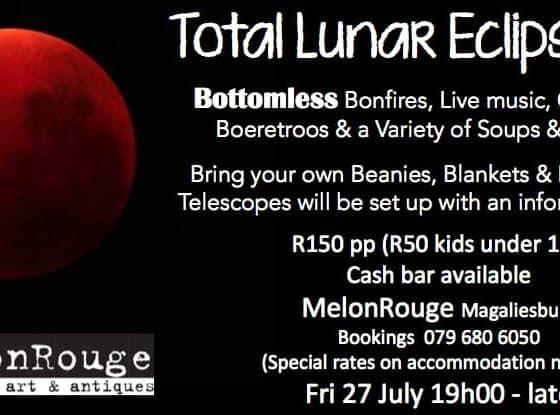 Total Lunar Eclipse at MelonRouge