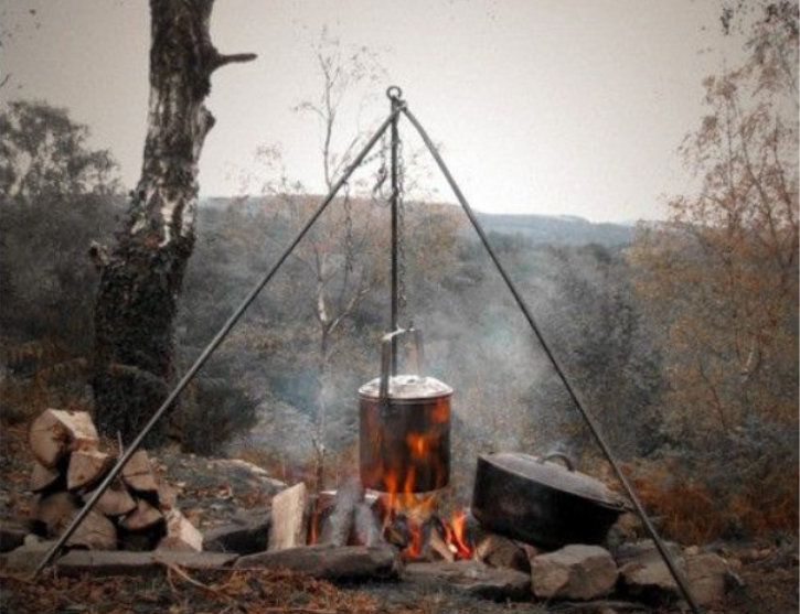 Bushcraft skills get together