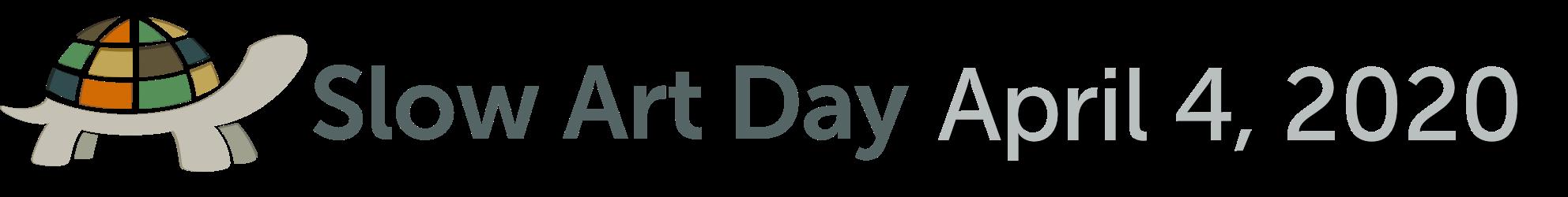 Slow Art Day 2020 - 4 April 2020